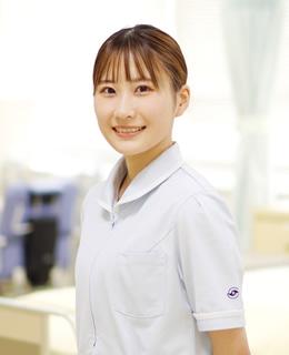 看護学科 4年 尾潟 悠生奈さん