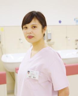 看護学科 4年 塩原 雪菜さん