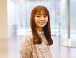 社会福祉学科 ソーシャルワークコース 4年 足立 優花さん