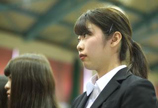 平成29年度入学式式辞の様子
